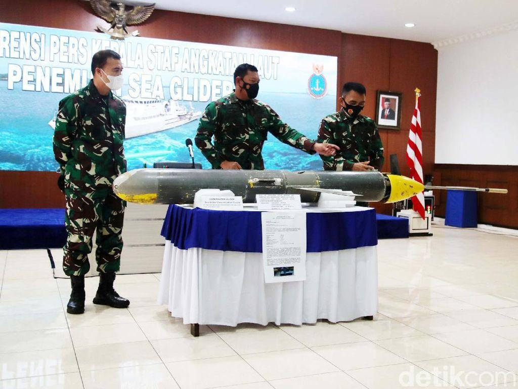 TNI AL Selesai Investigasi Seaglider yang Ditemukan di Perairan Selayar