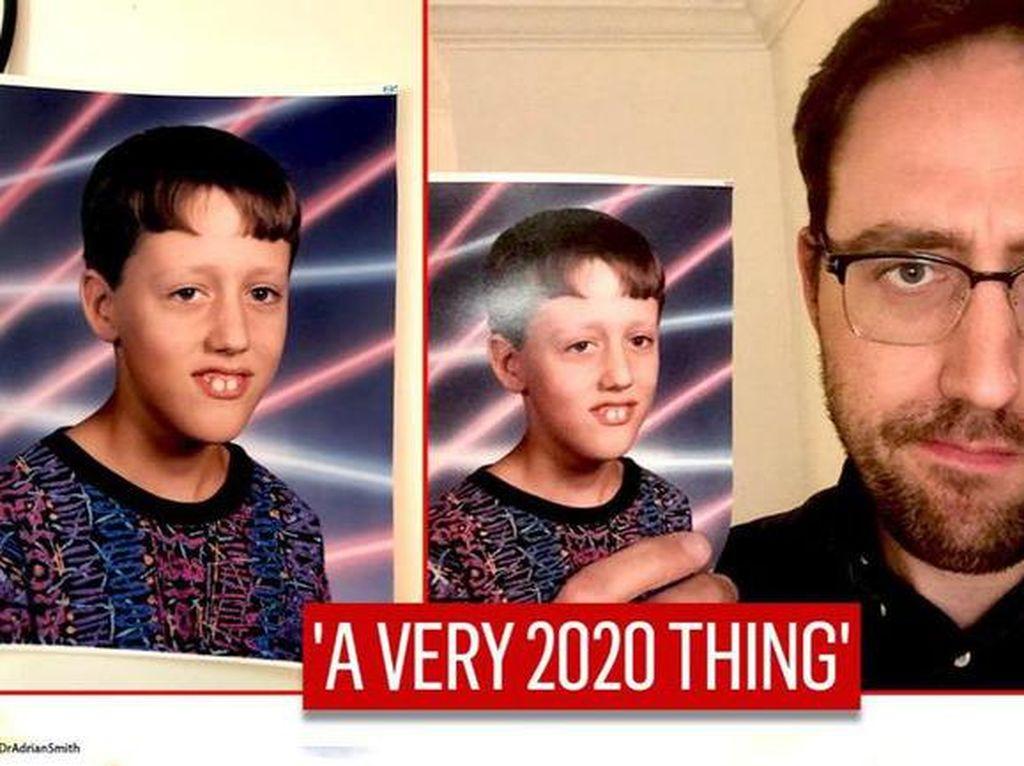 Bertahun-tahun, Pria Ini Baru Sadar Fotonya Jadi Meme Viral