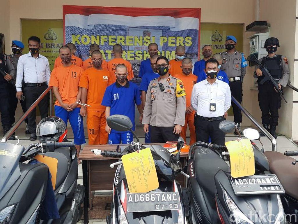 12 Pelaku Begal Geng Motor Brutal Syndicate Asal Klaten Ditangkap