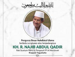 Pengasuh Ponpes Krapyak KH Najib Abdul Qadir Munawwir Wafat