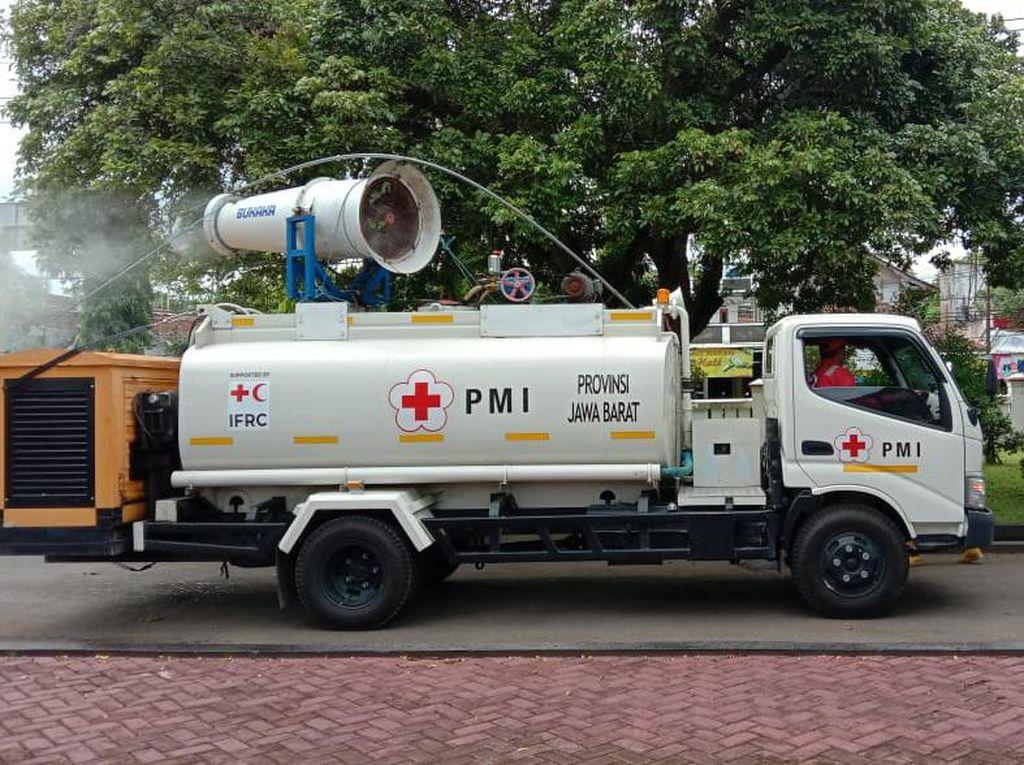 Libur Nataru Berakhir, Kawasan Wisata Pangandaran Disemprot Disinfektan