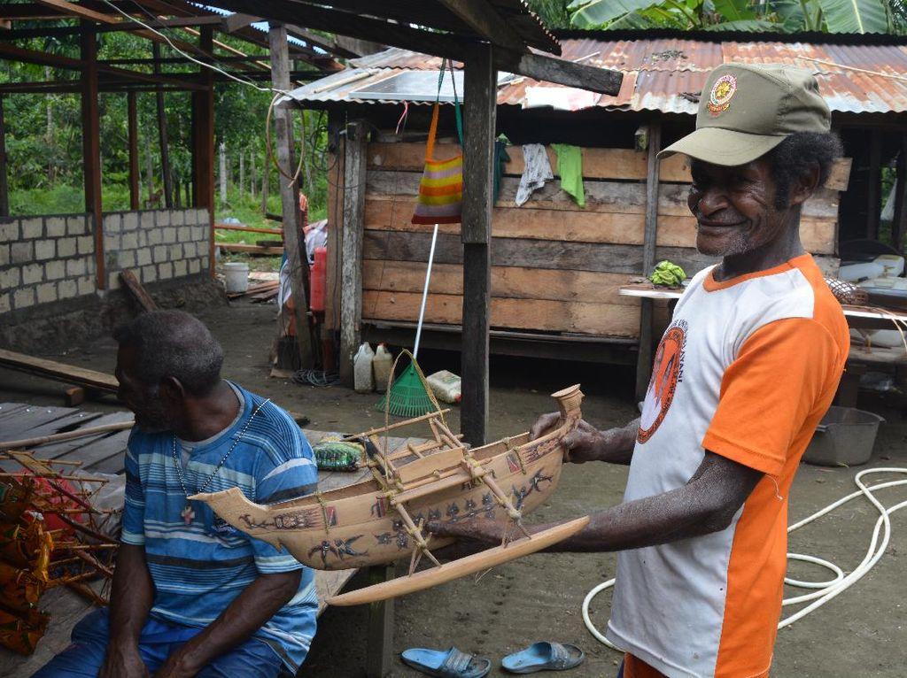 Kisah Perahu Sarmi Khas Suku Sobey, Pelaut Ulung dari Papua