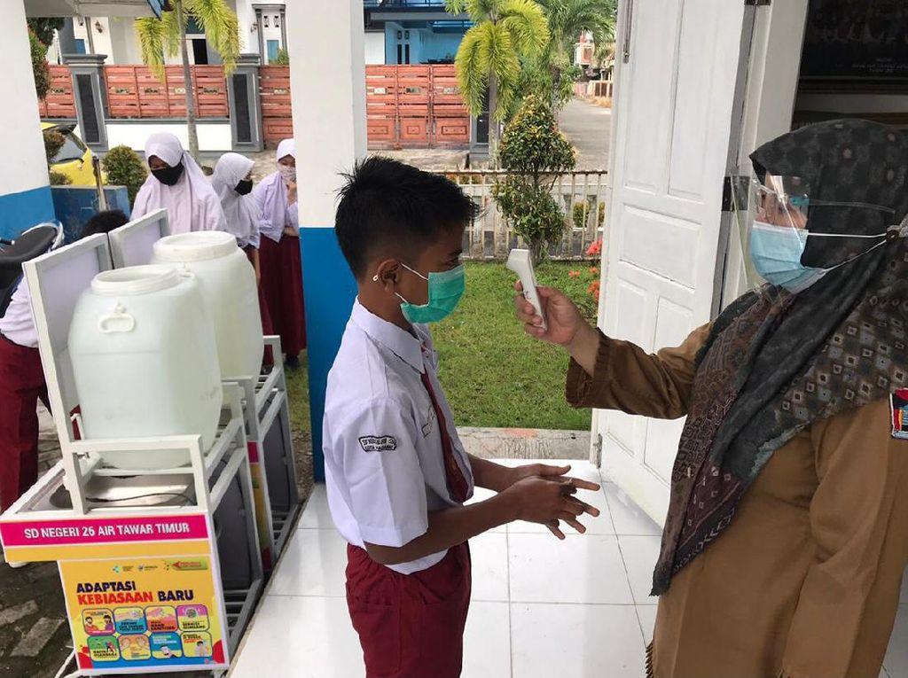 PAUD-SMP di Padang Mulai Belajar Tatap Muka, 10% Ortu Belum Izinkan Anak