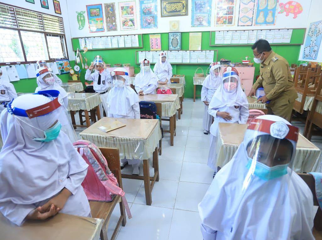 Sekolah di Banda Aceh Gelar Belajar Tatap Muka, Jumlah Siswa Dibatasi