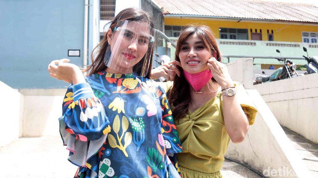 Cerita Syahnaz Sadiqah saat Rayakan Ulang Tahun Anak Kembarnya