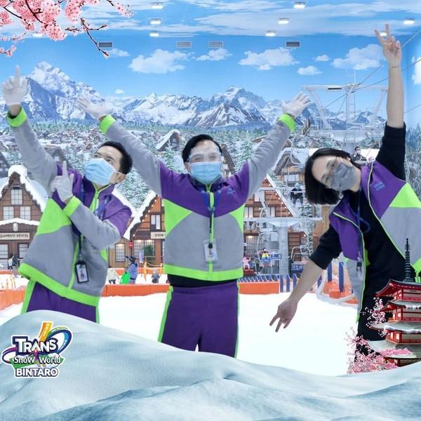 protokol kesehatan di Trans Snow World Bintaro