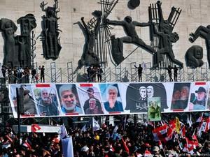 Tuntut Balas Dendam, Warga Irak Peringati 1 Tahun Pembunuhan Jenderal Iran