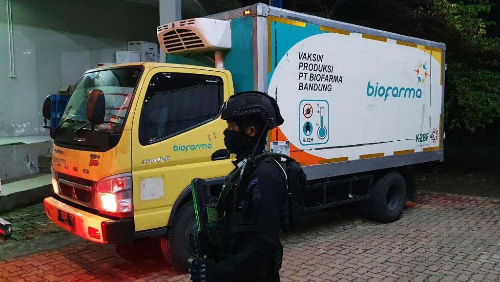 Foto: Vaksin COVID-19 Tiba di Jateng