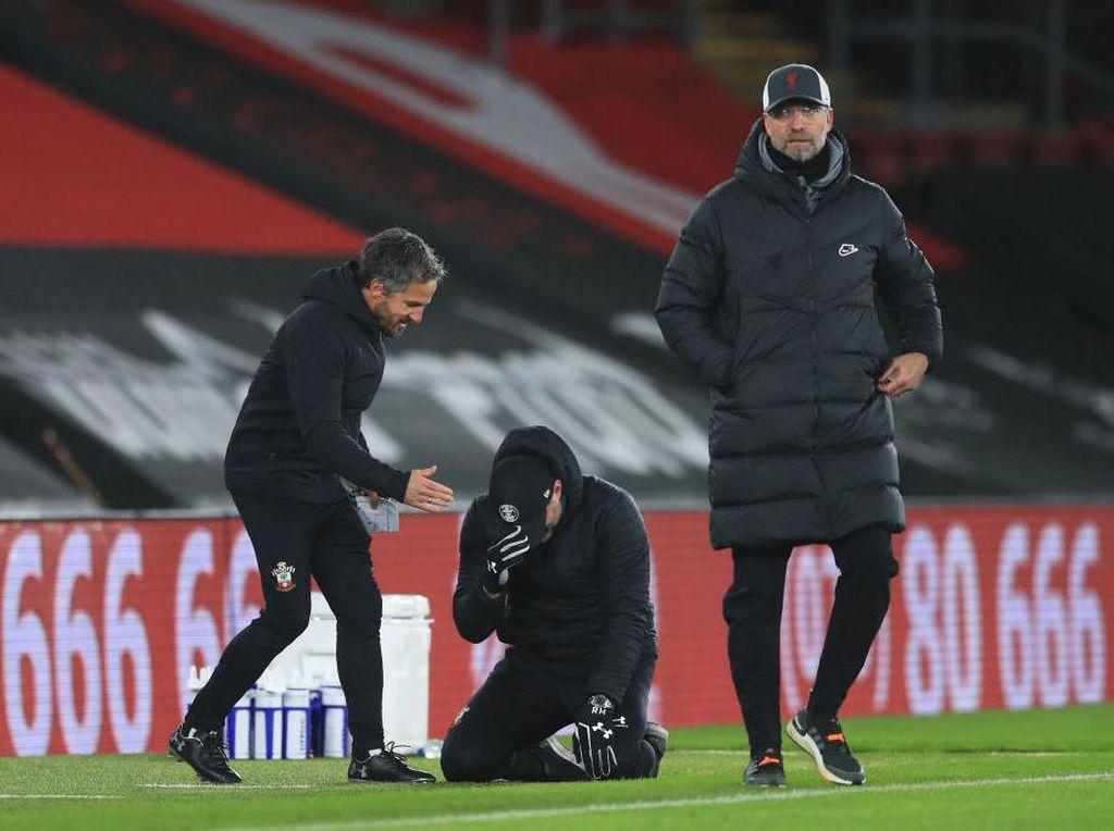 Manajer Southampton Nangis Usai Kalahkan Liverpool, Capello: Lebay!