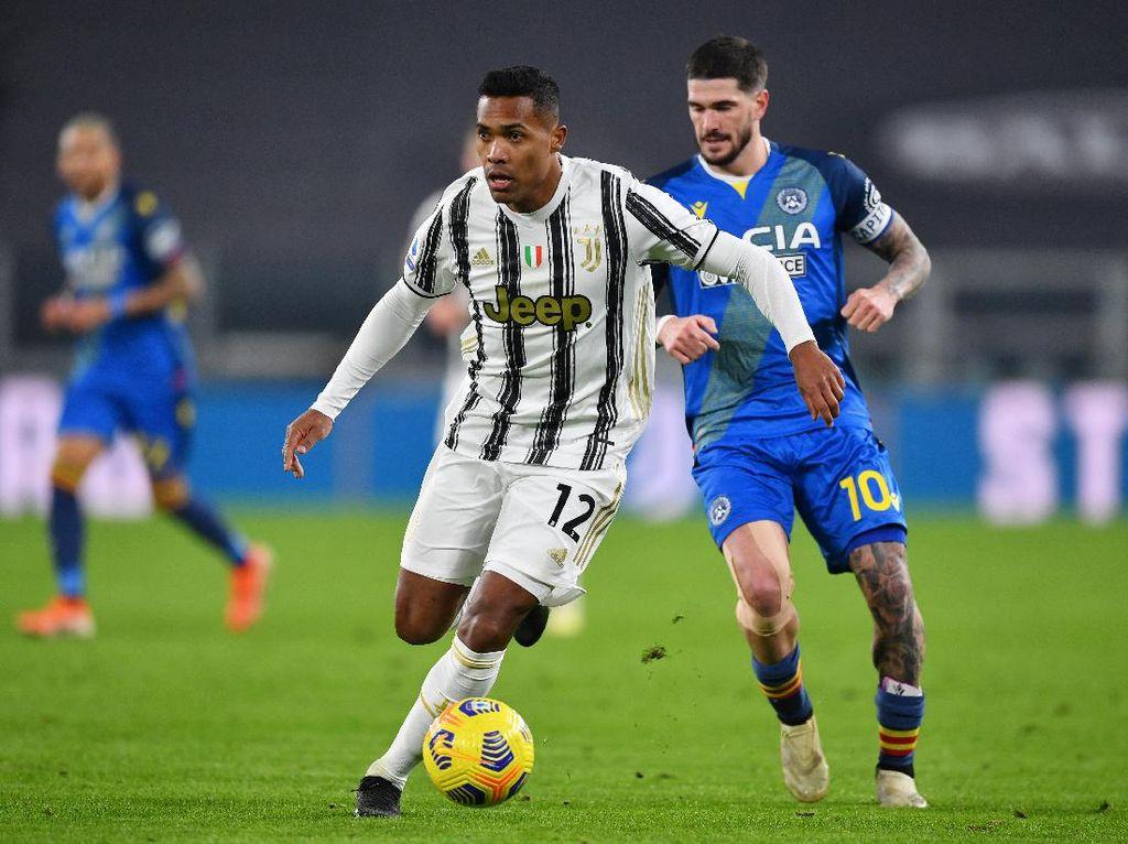 Pemain Juventus Alex Sandro Dinyatakan Positif Covid-19