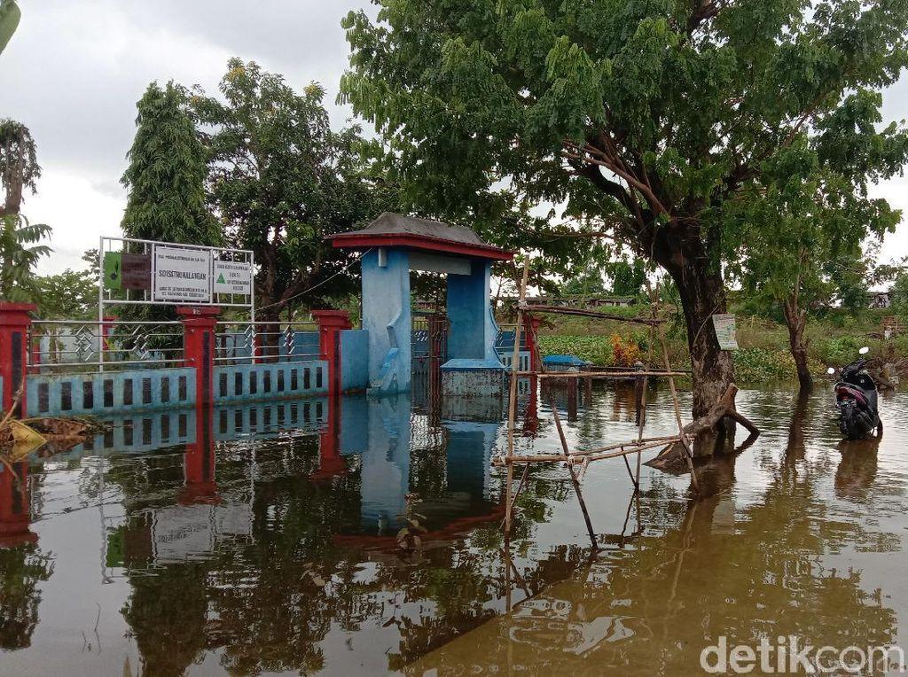 Banjir Akibat Tanggul Jebol di Kudus Belum Usai, Puluhan Rumah Masih Terendam