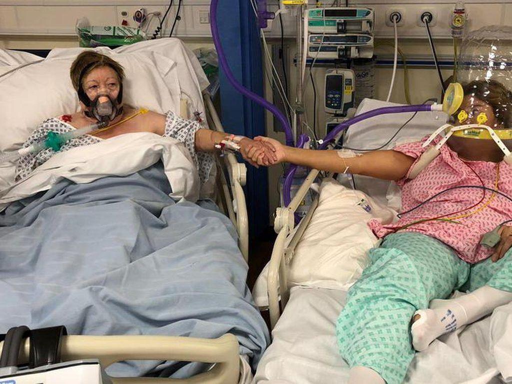 Cerita Menyayat Hati Seorang Ibu Wafat di Sebelah Putrinya di RS