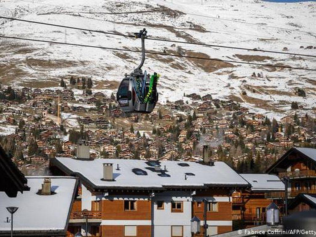 Sempat Heboh, Swiss Bantah Ratusan Turis Inggris Kabur dari Karantina Resor Ski