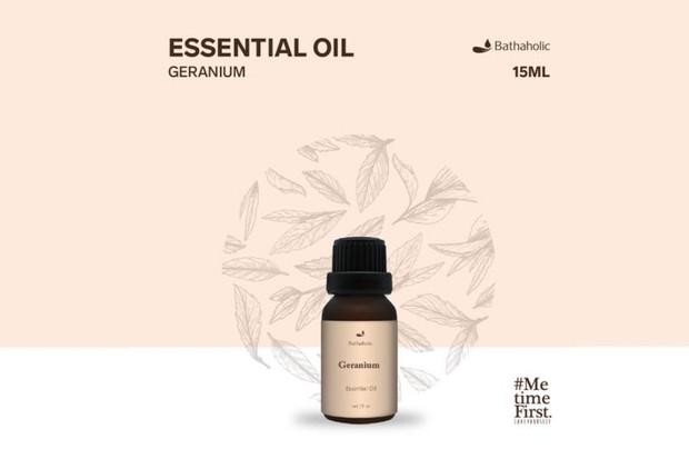 Bathaholic Geranium Aromatherapy Essential Oil