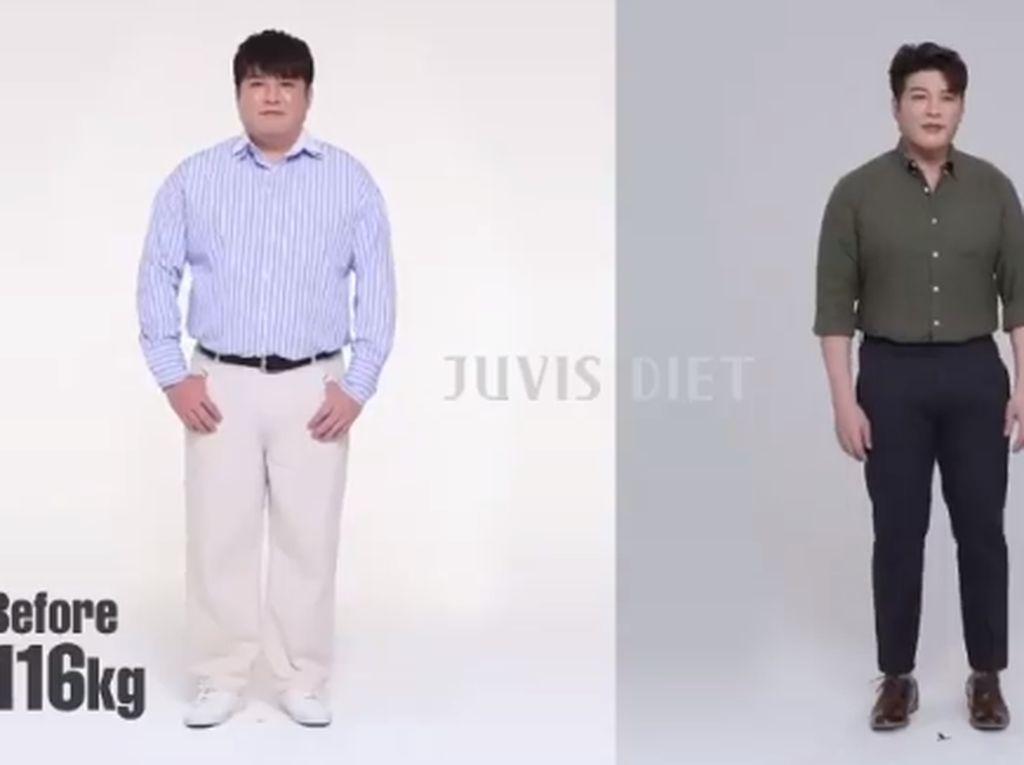 Jalani Juvis Diet, Shindong Super Junior dan Park Bom Sukses Turunkan BB