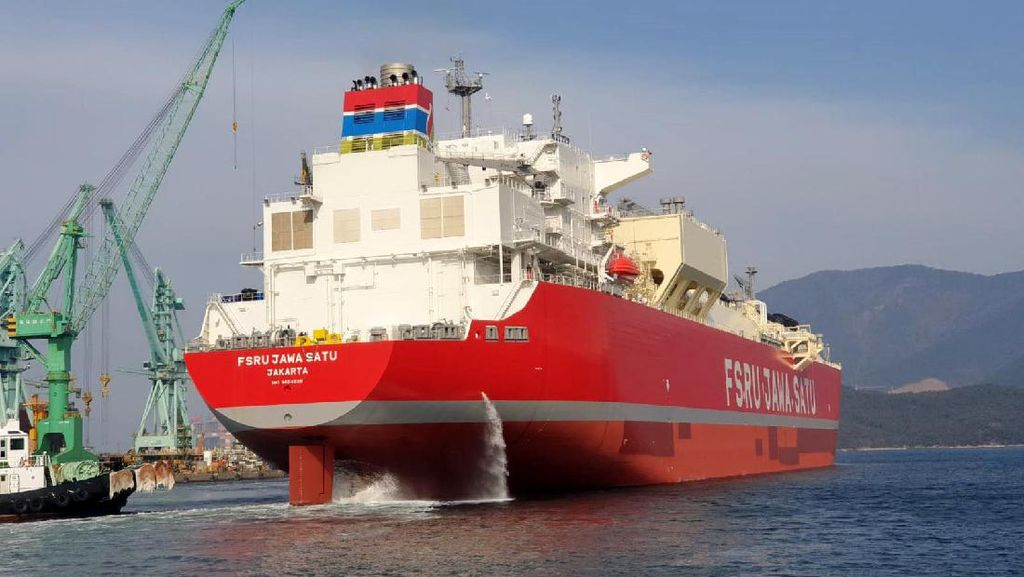 Kapal FSRU Jawa Satu Berlayar dari Korsel ke Cilamaya