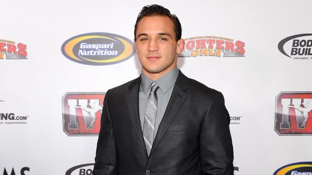 LAS VEGAS, NV - NOVEMBER 30: Mixed martial artist Michael Chandler arrives at the Fighters Only World Mixed Martial Arts Awards 2011 at the Palms Casino Resort November 30, 2011 in Las Vegas, Nevada.   Ethan Miller/Getty Images/AFP