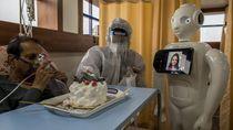 Robot ini Bantu Tangani Pasien Corona di India