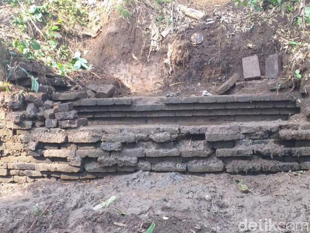 Struktur Bata Kuno di Pasuruan Identik dengan Temuan Daerah Lain