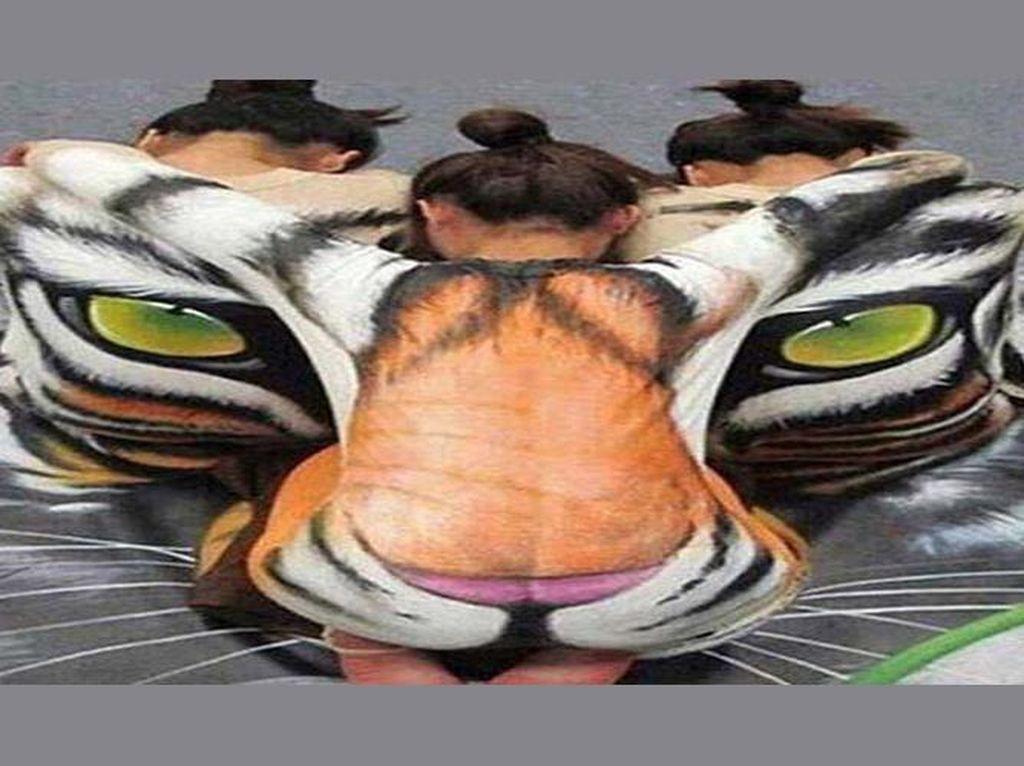 Tes Kepribadian: Gambar Harimau atau Wanita yang Pertama Kamu Lihat?