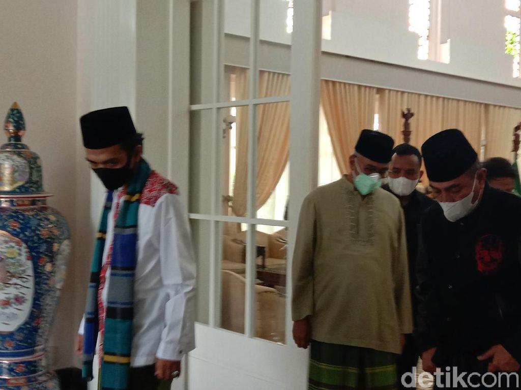 UAS Bertemu Gubsu Edy di Medan Pagi Ini, Bahas Apa?