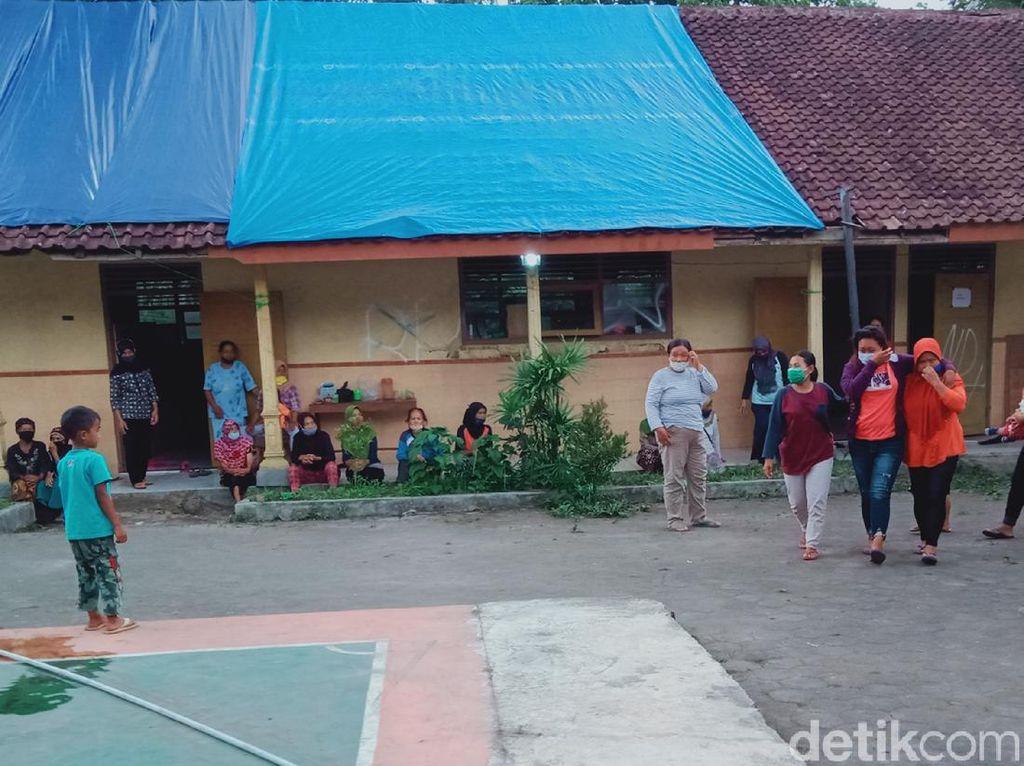 Warga Lereng Merapi Klaten Ngungsi Lagi, Kades: Sinyal Meliuk Makin Sering