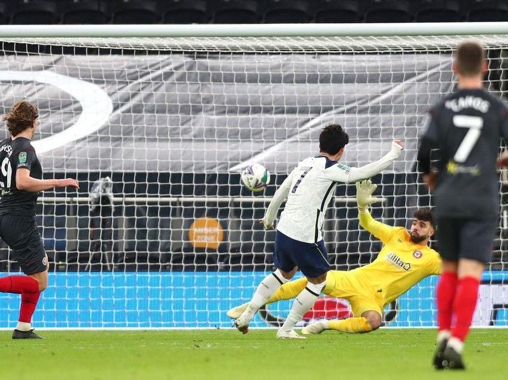 Piala Liga Inggris: Tottenham ke Final Usai Kalahkan Brentford 2-0