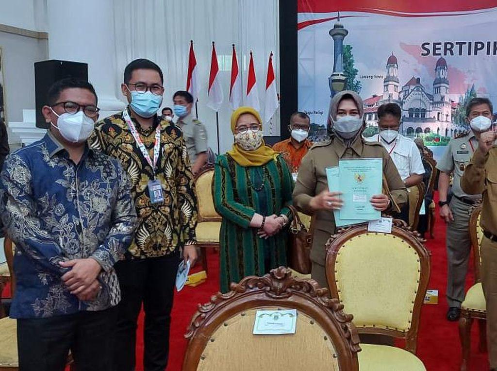 Pemprov Banten Raih 95,61% MCP Manajemen Aset Daerah dari KPK
