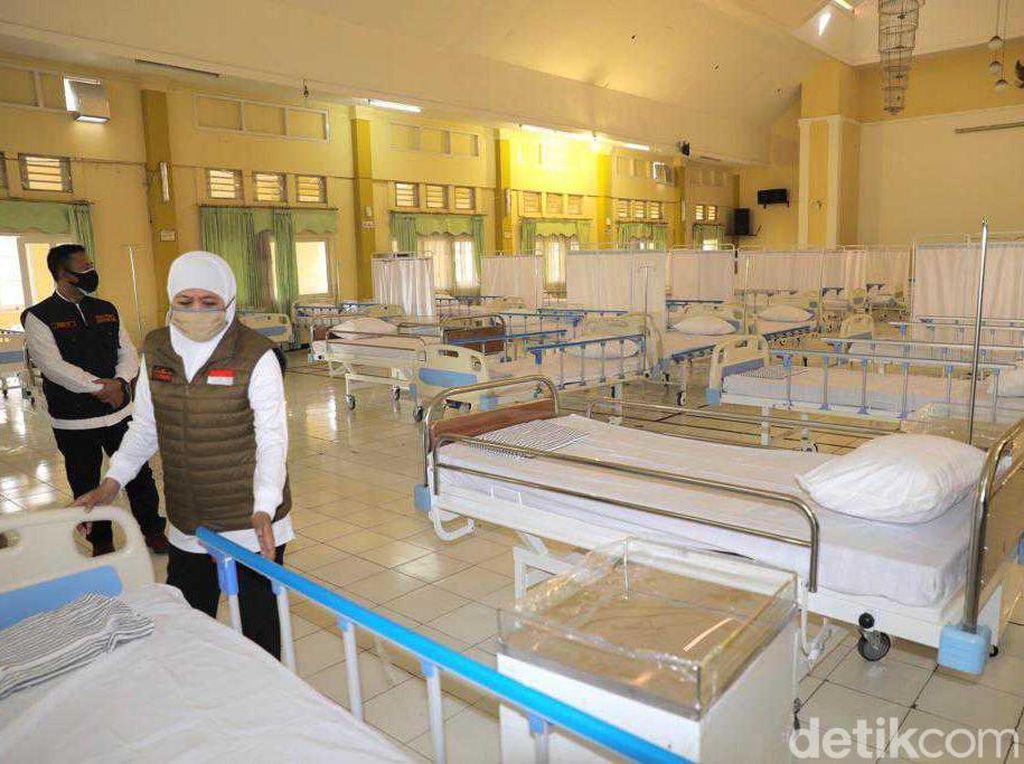 Bed Terpakai di RS Rujukan COVID-19 Jatim Lebih dari 70%, Ini Upaya Satgas?
