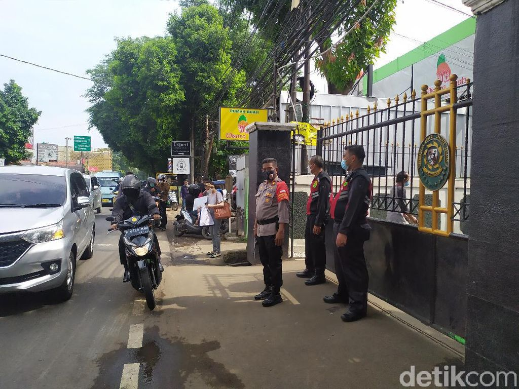 Hari Ketiga Praperadilan Habib Rizieq, Begini Pengamanan di PN Jaksel