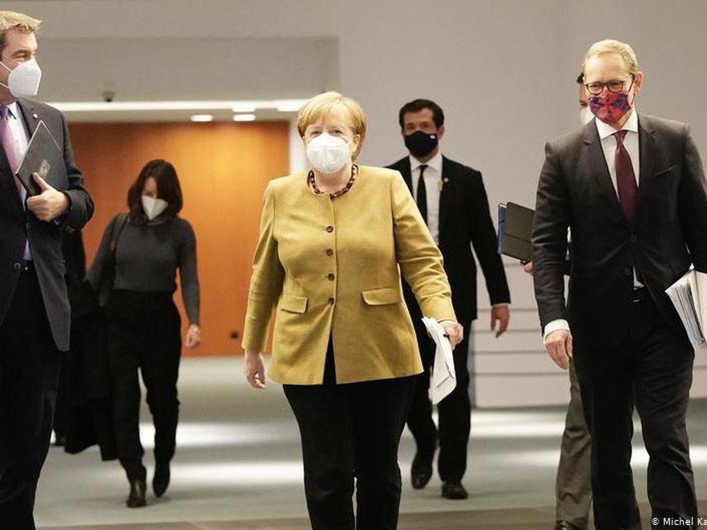 Jerman Resmi Perpanjang Lockdown Corona hingga 31 Januari