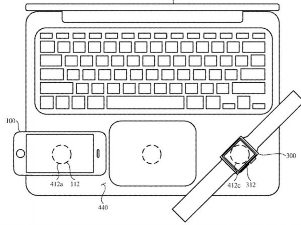 Apple Ajukan Paten Bisa Nge-charge iPhone dan iPad di MacBook
