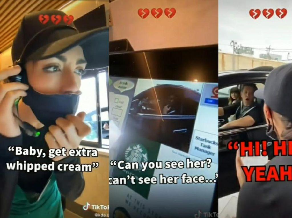 Labrak Pacarnya di Starbucks, Wanita Ini Pura-pura Jadi Barista