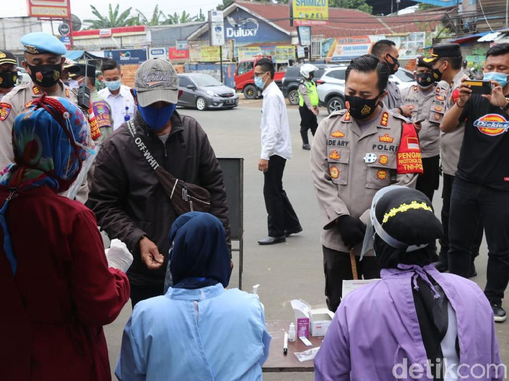 Terjaring Operasi Prokes, 2 Warga Tangerang Reaktif Corona