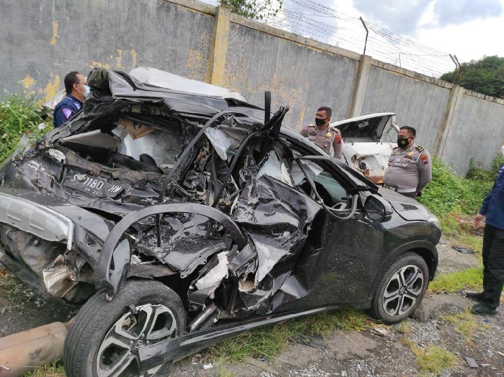 Polisi: Chacha Sherly Tak Pakai Sabuk Pengaman Saat Kecelakaan di Tol