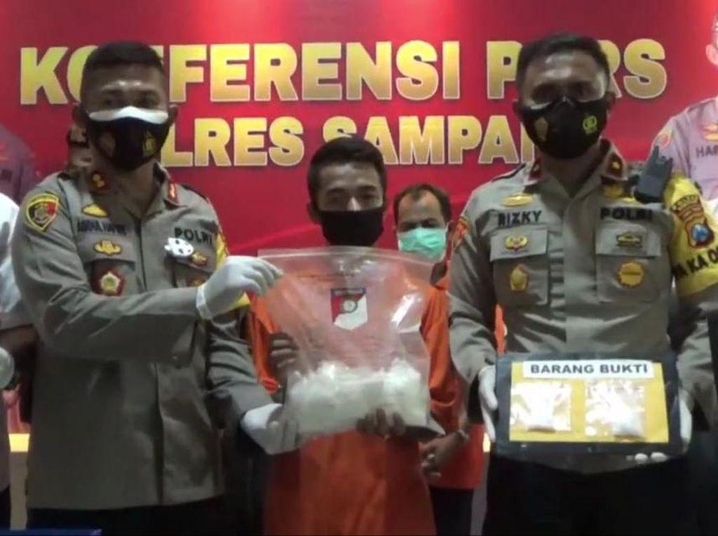 Diamankan di Sampang, 1,2 Kg Sabu Gagal Diedarkan ke Jateng