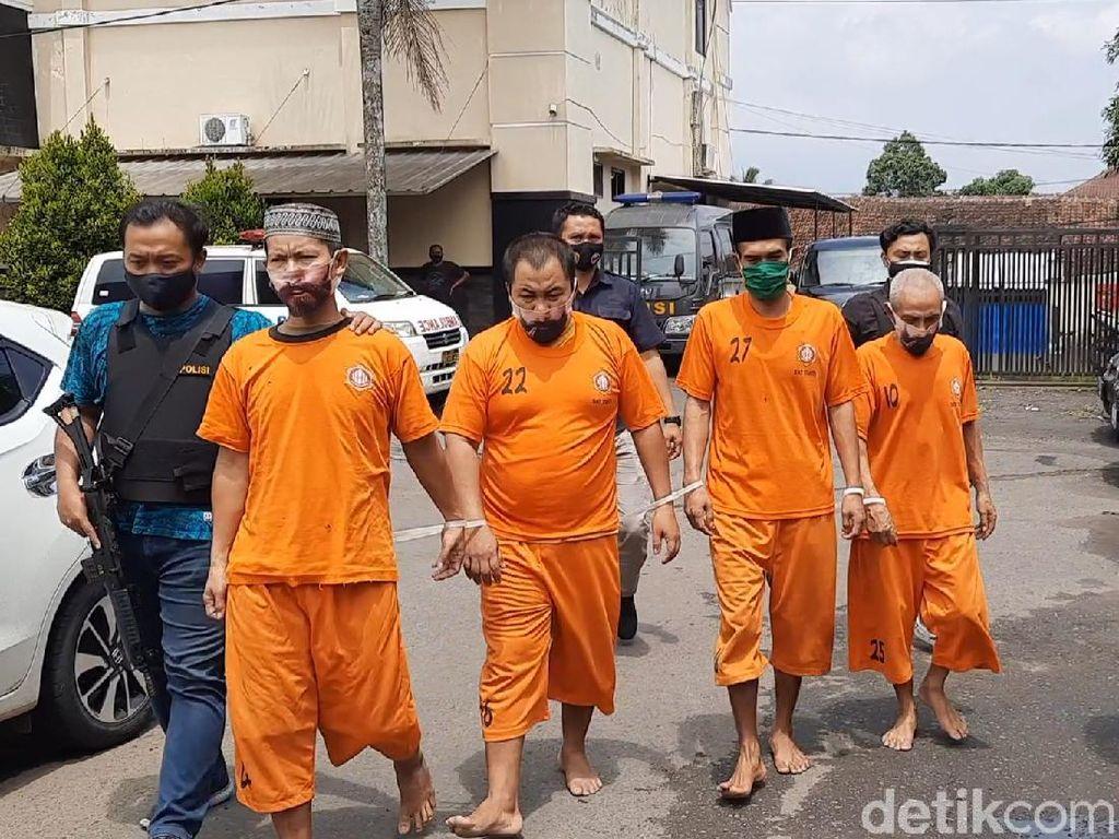 Polisi Bekuk Komplotan Pencuri Ternak di Tasikmalaya