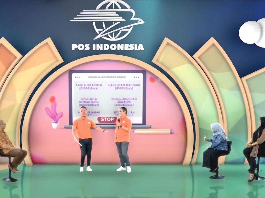 Pos Indonesia Bagikan Hadiah Motor & Saldo PGM Lewat Customer Reward