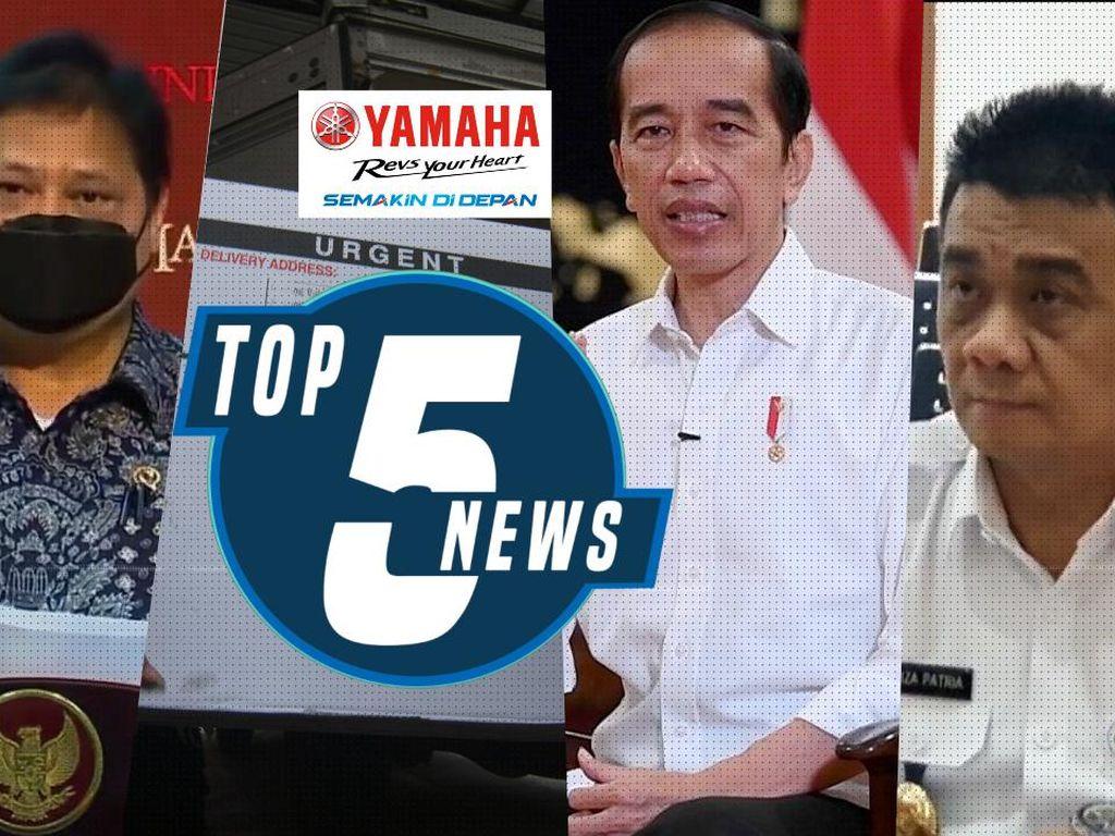 Pembatasan Baru Mulai 11 Januari Hingga Alasan Jokowi Divaksin Pertama