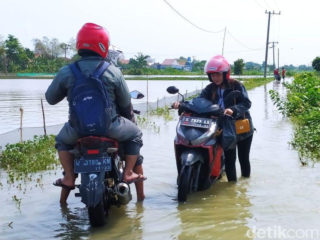 Tak Juga Surut, Banjir di Lamongan Justru Kian Meluas, 3.355 Rumah Terendam