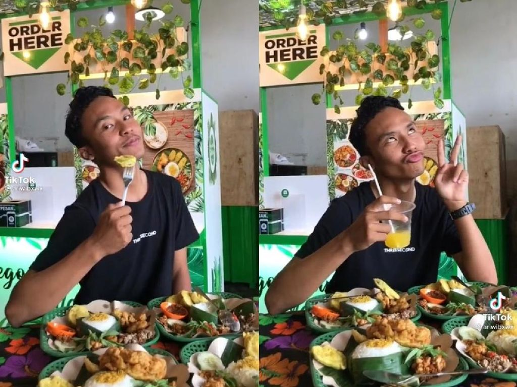 Bikin Ngakak! Gaya Cewek Saat Pose Depan Makanan Ini Akurat Banget