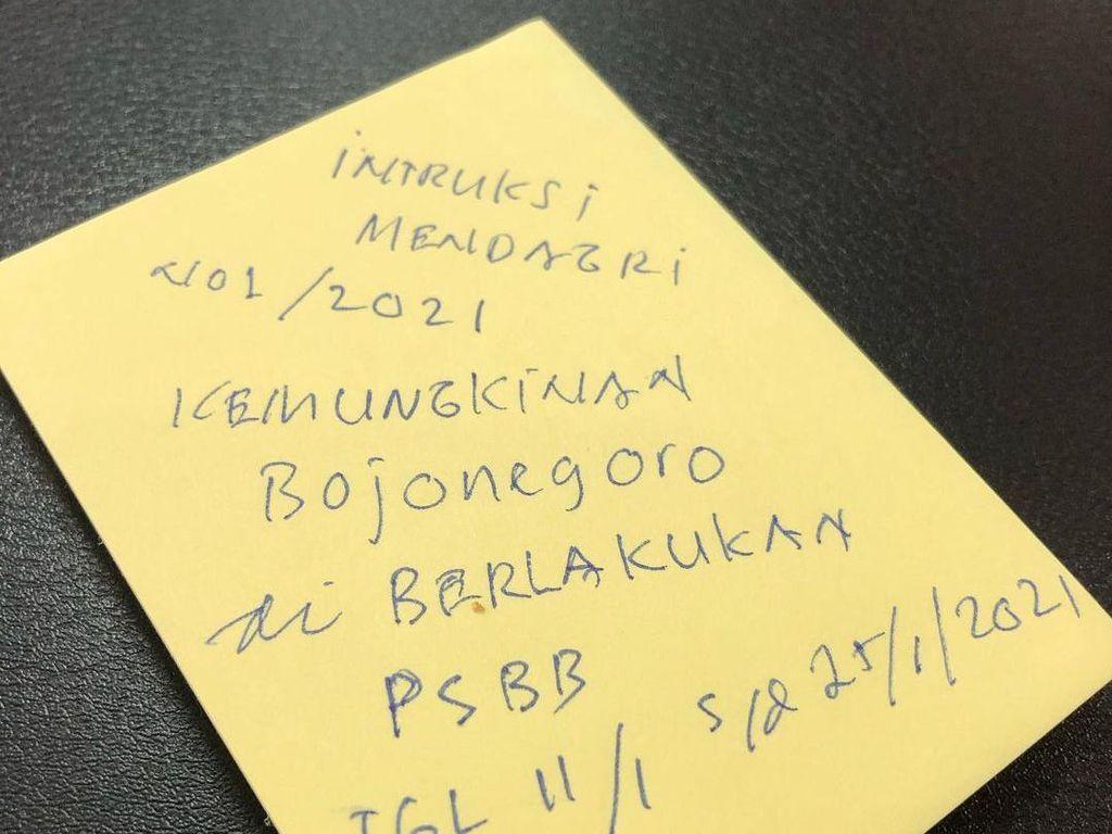 Bupati Anna Tulis Bojonegoro Kemungkinan Akan Terapkan PPKM, Benarkah?