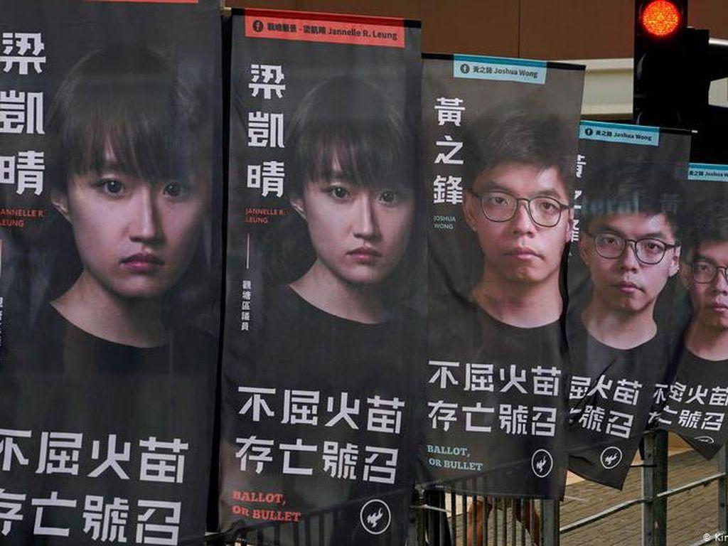 China Penjarakan 50 Tokoh Pro-Demokrasi Hong Kong