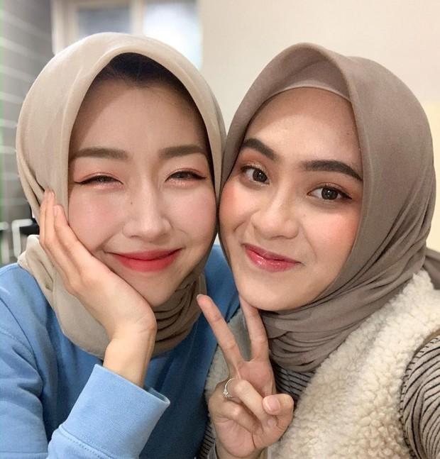 flawless makeup menjadi hasil akhir make over/instagram.com/sunnydahye