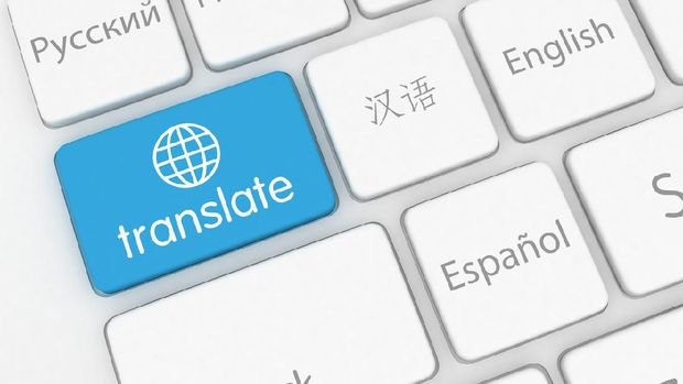 Translate learn language internet online application keyboard