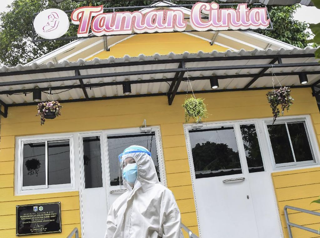 Ini Taman Cinta, Ruang Bersalin untuk Pasien Corona di Jakarta