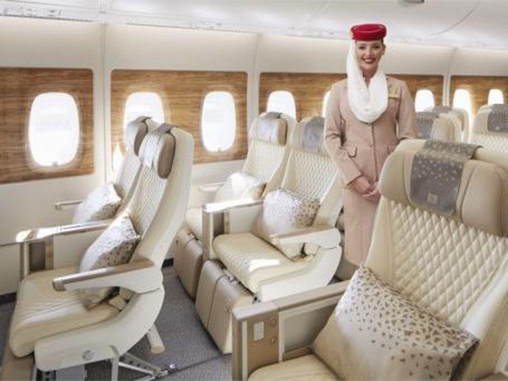 Emirates Kenalkan Kelas Ekonomi Premium di Armada A380 Baru, Setara Bisnis