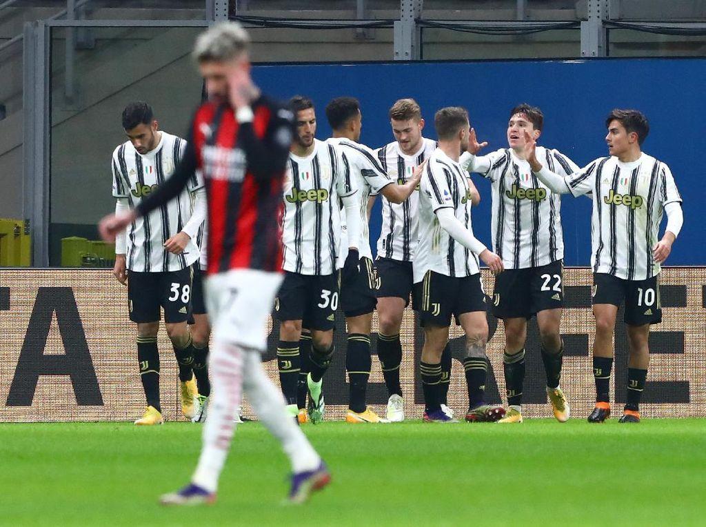 AC Milan Vs Juventus: Si Nyonya Tua Gasak Rossoneri 3-1