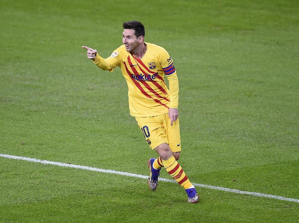 Top Skor Liga Spanyol: Messi Melejit!