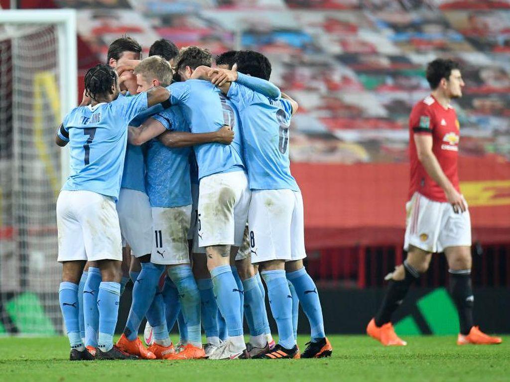 MU Vs Man City: Menang 2-0, The Citizens ke Final Piala Liga Inggris